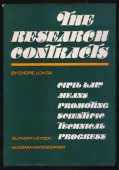 The Research Contracts. Civil-law means promoting scientific-technical progress