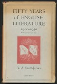 Fifty Years of English Literature 1900-1950