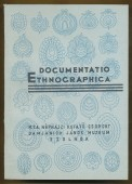 Documentatio Ethnographica 4. szám
