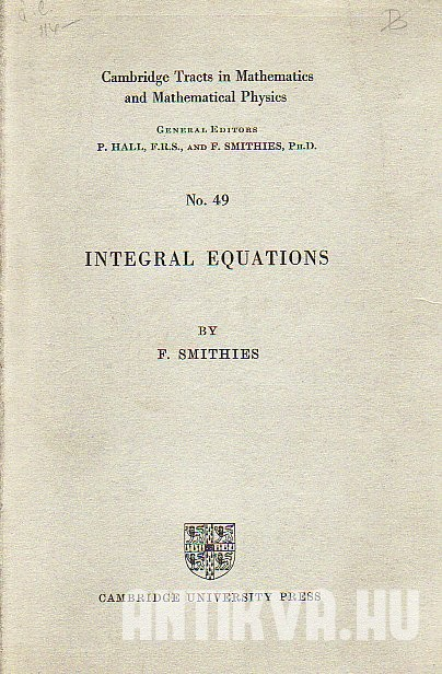 Integral Equations
