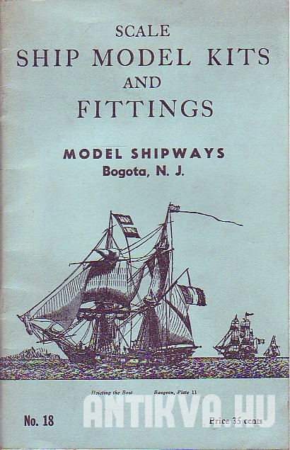 Model Shipways Line of Scale. Ship Model Kits & Fittings 1964.
