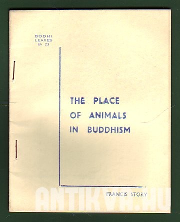 The Place of Animals in Buddhism