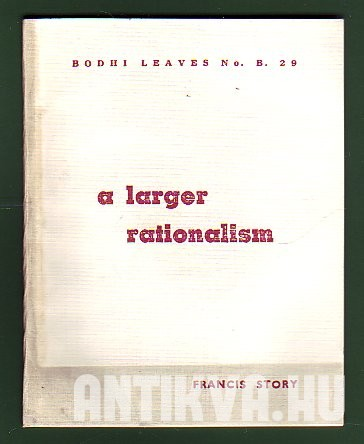 A Larger Rationalism