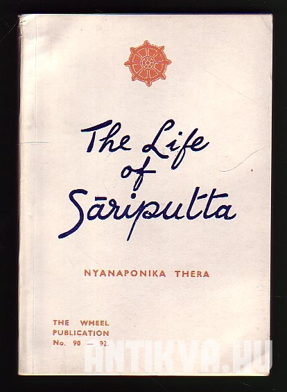 The Life of Sáriputta