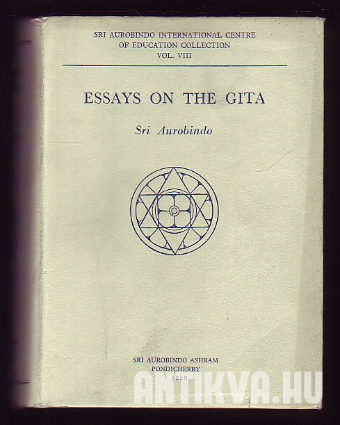 Essays ons the Gita