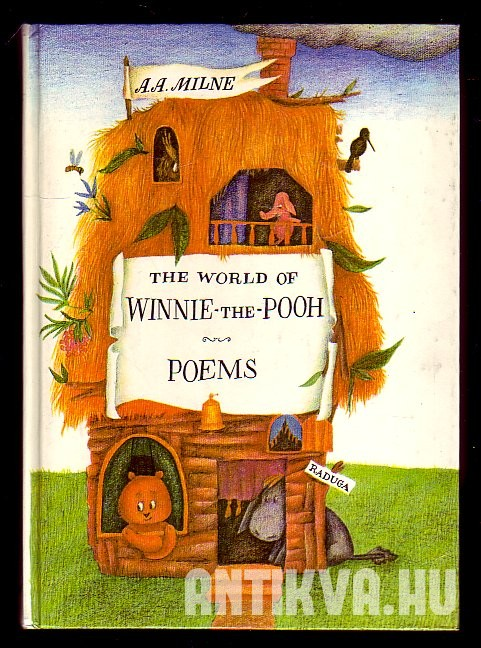 Winnie-the-Pooh, The House at Pooh Corner, When We were Very Young, Now We are Six