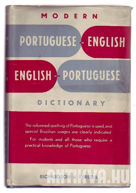 Modern Portuguese-English English-Portuguese Dictionary