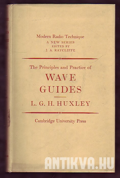 A Survey of the Principles and Practices of Wave Guides