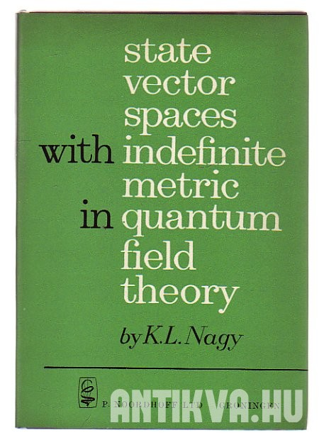 State Vector Spaces with Indefinite Metric in Quantum Field Theory