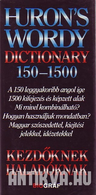 Huron' Wordy Dictionary 150 - 1500