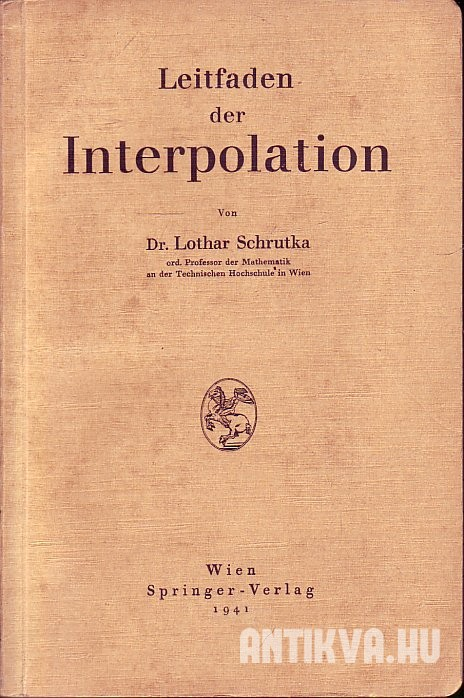 Leitfaden der Interpolation