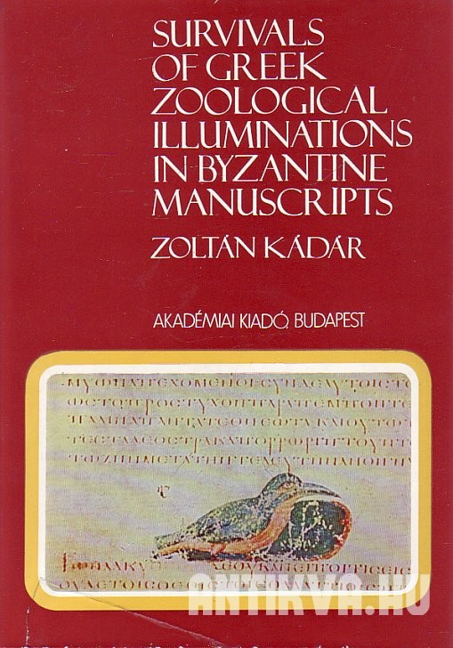 Survivals of Greek Zoological Illuminations in Byzantine Manuscripts