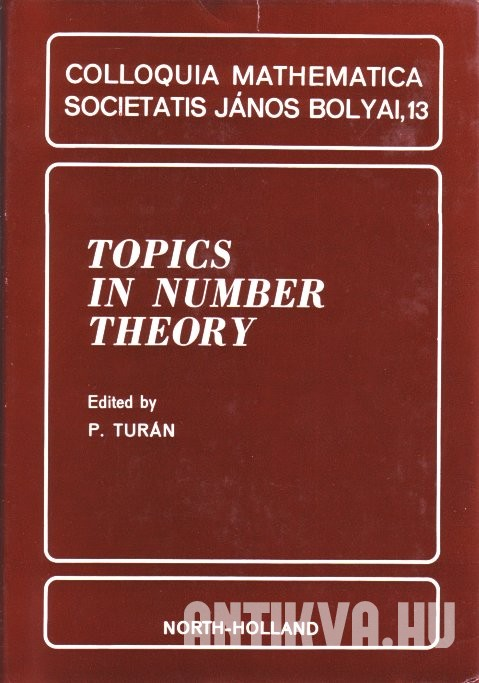 Topics in Number Theory