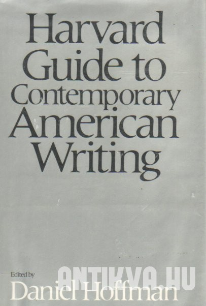 Harvard Guide to Contemporary American Writing