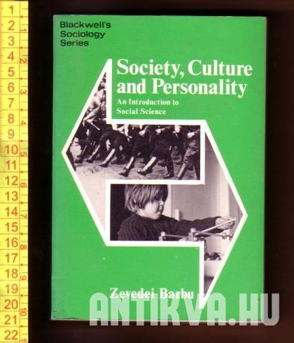 Society, Culture and Personality. An Introduction to Social Science