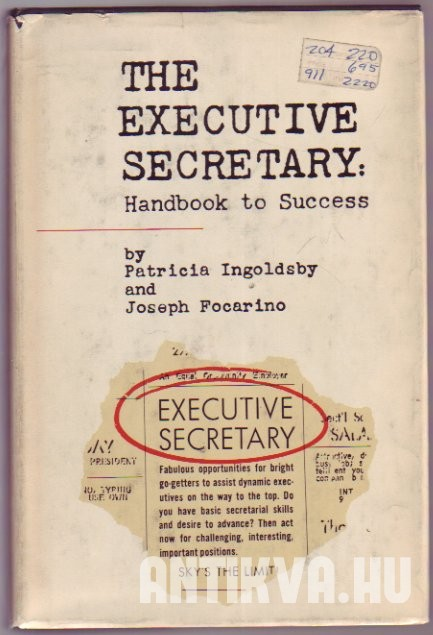 The Executive Secretary: Handbook To Success