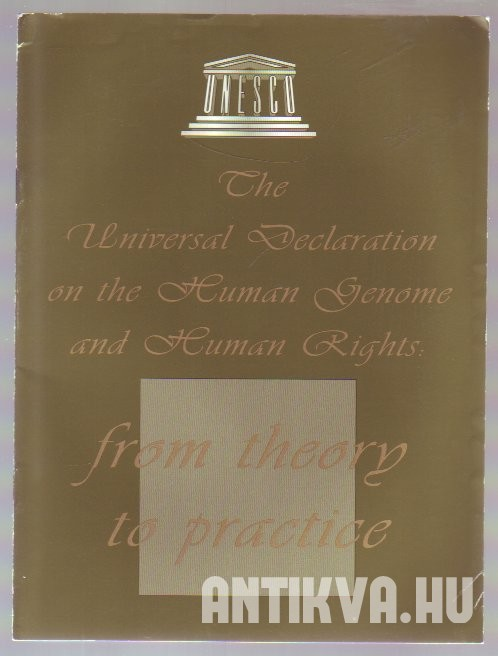 The Universal Declaration on the Human Genome and Human Rights: from Theory to Practice