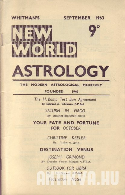 New World Astrology No. 275.