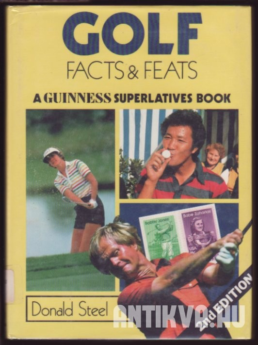 The Guinness Book of Golf Facts & Feats