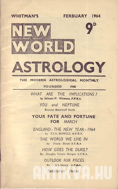 New World Astrology No. 280.