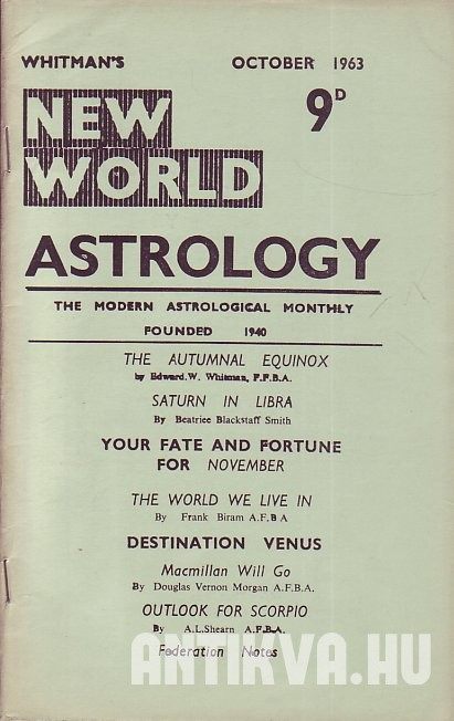 New World Astrology No. 276.