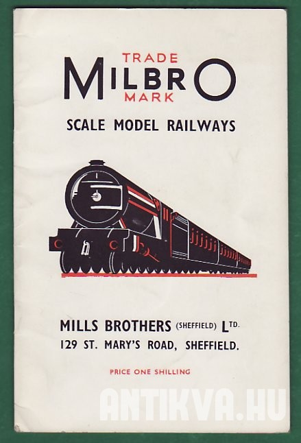 Trade Milbro Mark Scale Model Railways