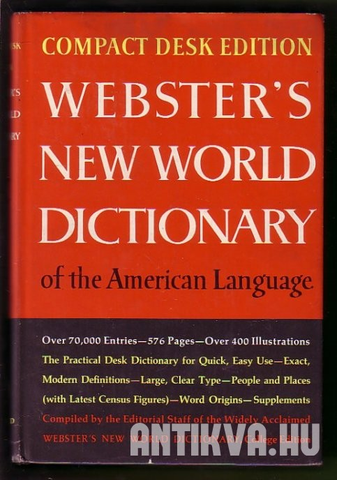 Webster's New World Dictonary