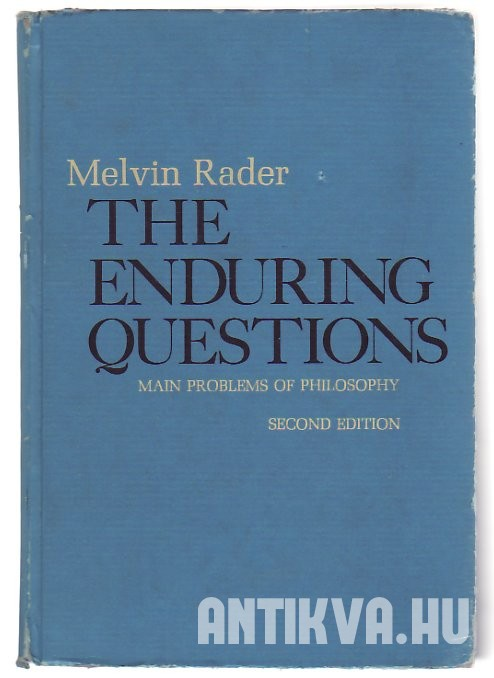 The Enduring Questions. Main Problems of Philosophy