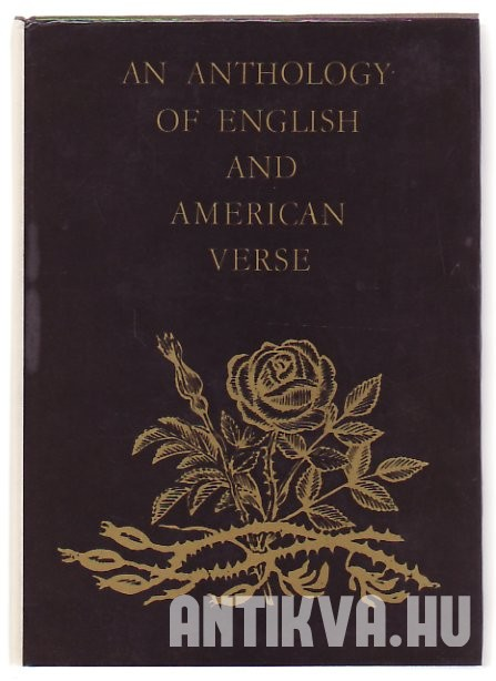 An Anthology of English and American Verse