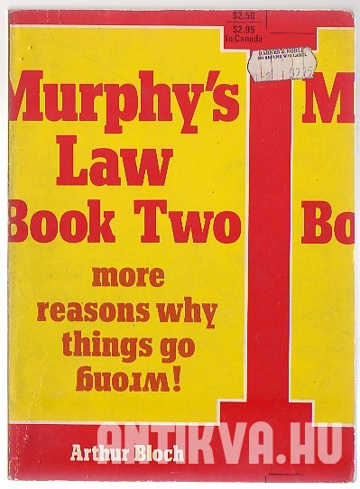 Murphy's Law. Book Two