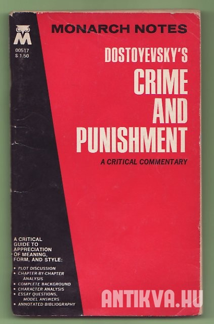 Dostoyevsky's Crime and punishment. A Critical Commentary