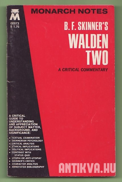 B. F. Skinner's Walden Two