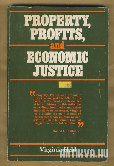 Property, Profits, and Economic Justice