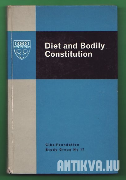Diet and Bodily Constitution