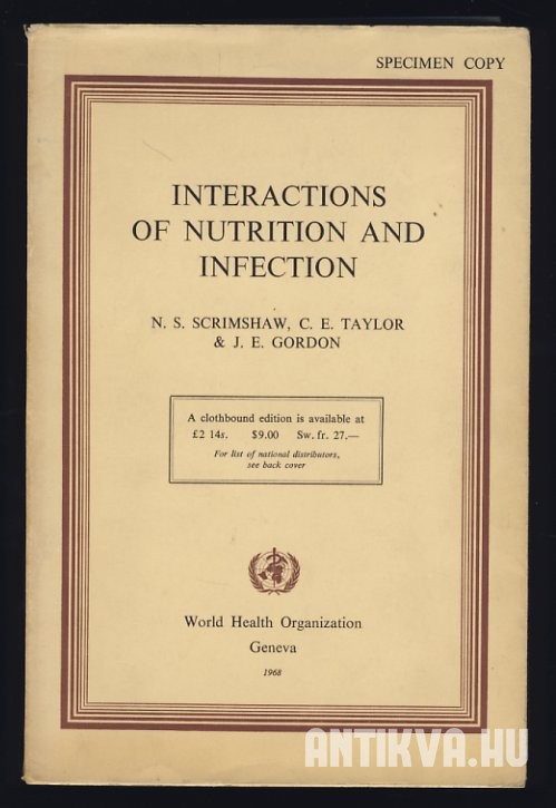 Interactions of Nutrition and Infection