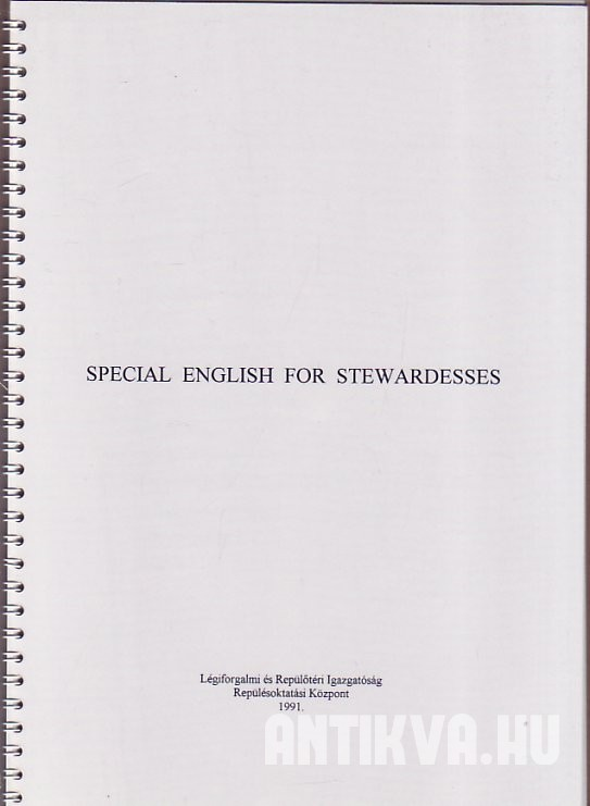 Special English for Stewardesses