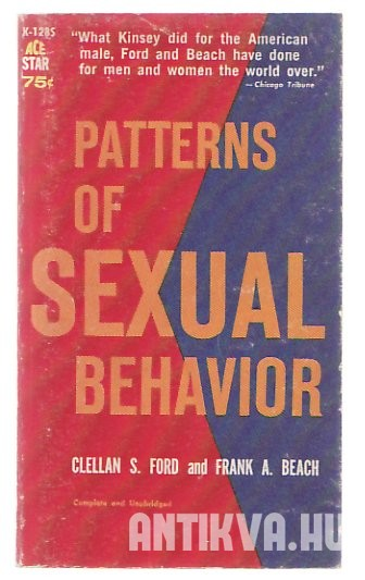 Patterns of Sexual Behavior