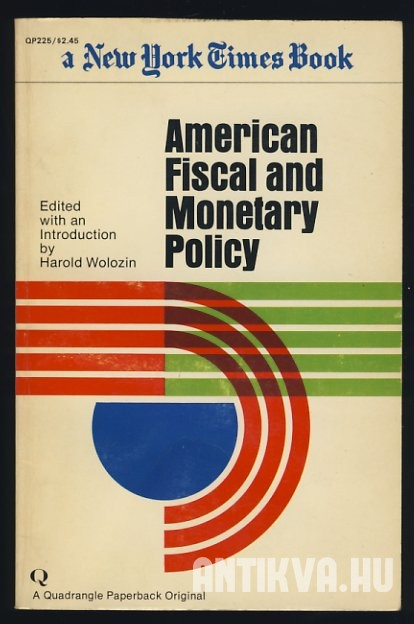 American Fiscal and Monetary Policy