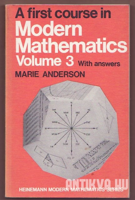 A First Course in Modern Mathematics. Volume III.