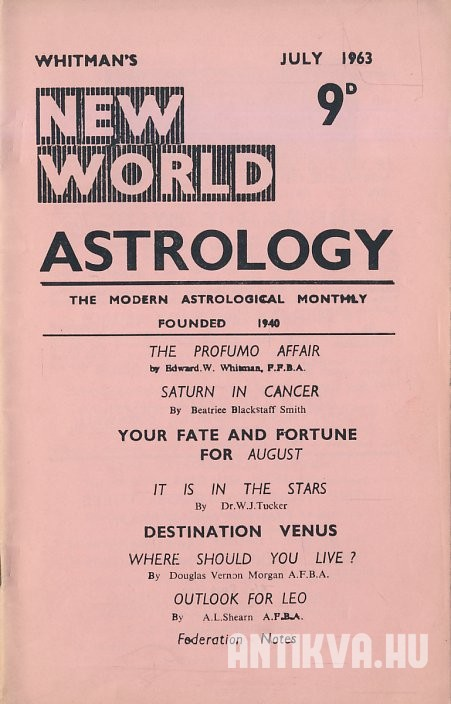 New World Astrology No. 273