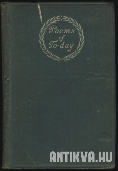 Poems of To-Day: an Anthology