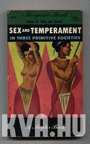 Sex and temperament in three primitive societies.