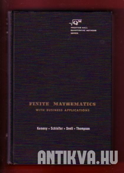 Finite Mathematics with Business Appications