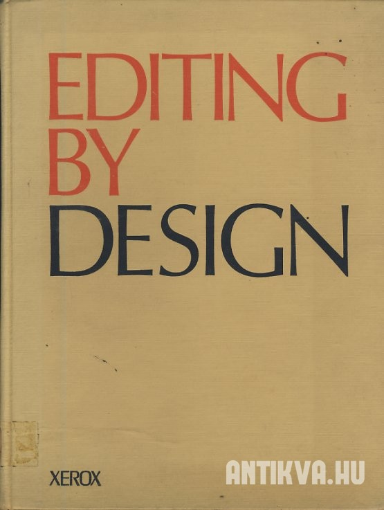 Editing by Design. World - and - Picture Communication