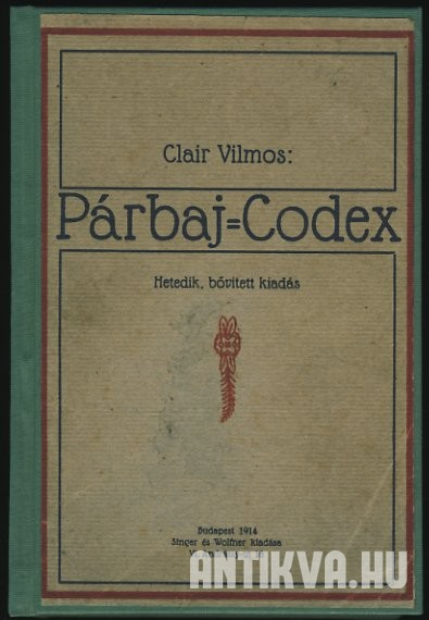 Párbaj-codex