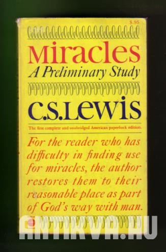 Miracles. A Perliminary Study