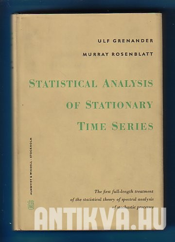 Statistical Analysis of Stationary Time Series
