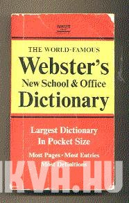 Webster's New School and Office Dictionary