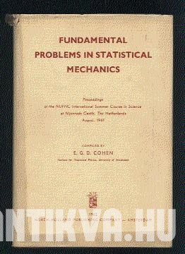 Fundamental Problems in Statistical Mechanics