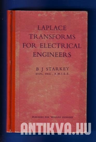 Laplace  Transforms for ELectrical Engineers